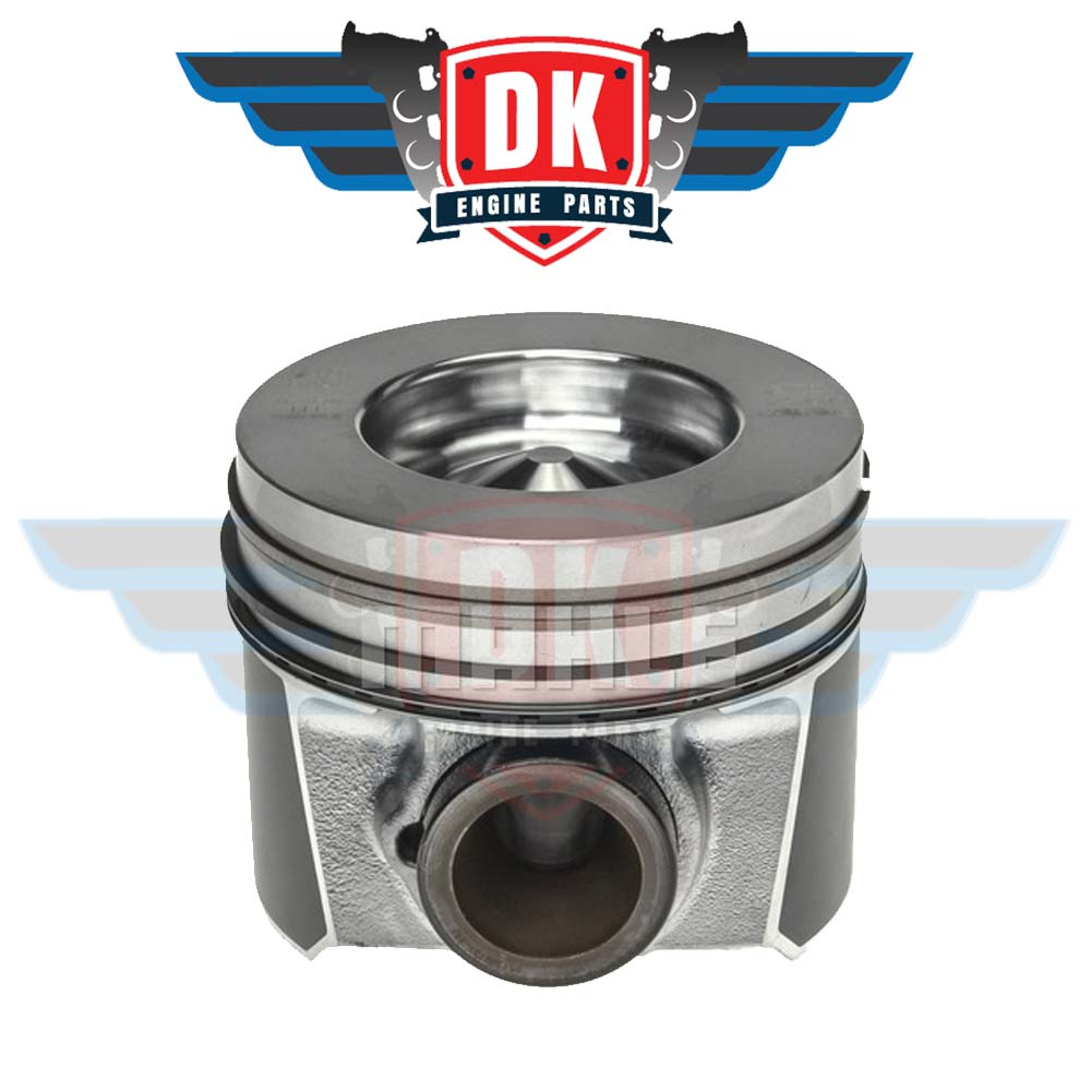 Piston w/ Rings - 224-3666WR - Mahle