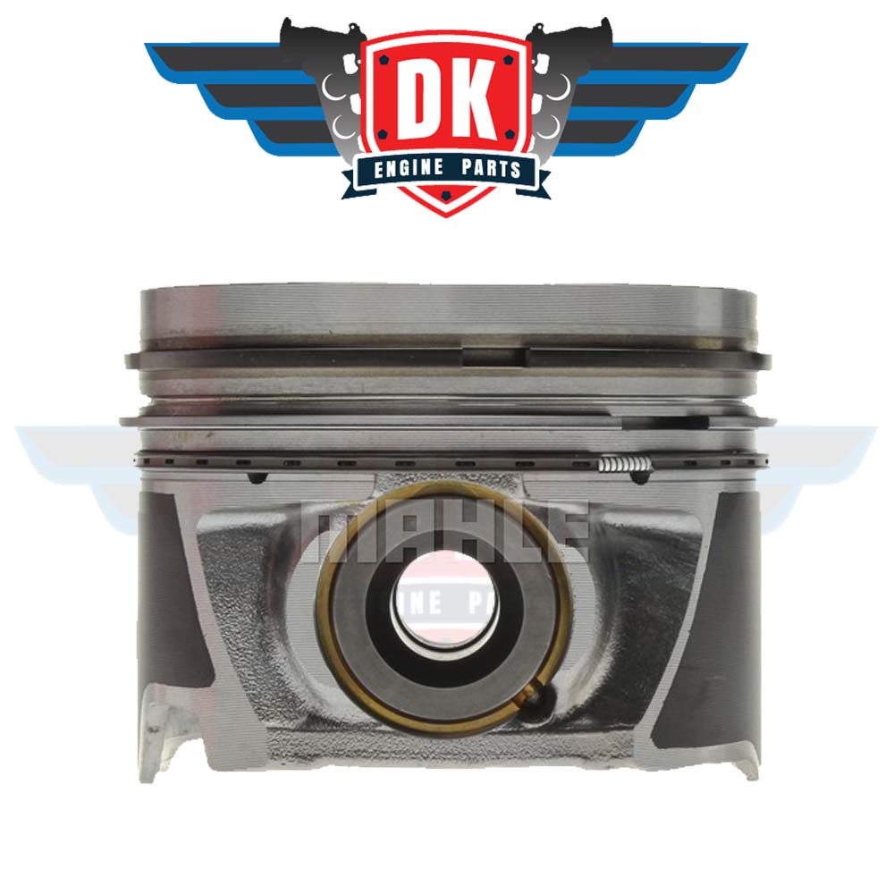 Piston w/ Rings (Right Bank) - 224-3708WR - Mahle