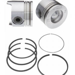 Piston w/ Rings - 224-3163WR - Mahle