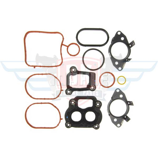 Coolant Water Crossover Mounting Set - GS33691 - Mahle