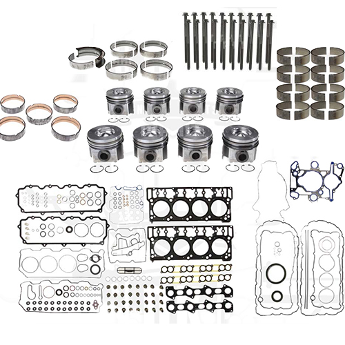 Engine Rebuild Kit with Head Bolts (2003 Only) - 489-1025 - Mahle