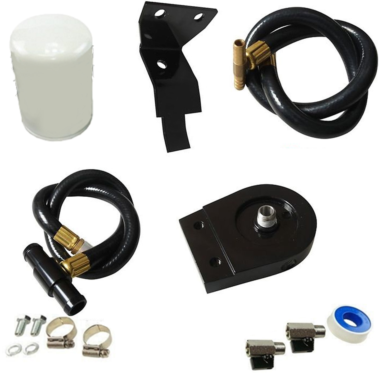 Black Coolant Filtration Kit - DK-FD6.0-CFFK2 - DK Engine Parts
