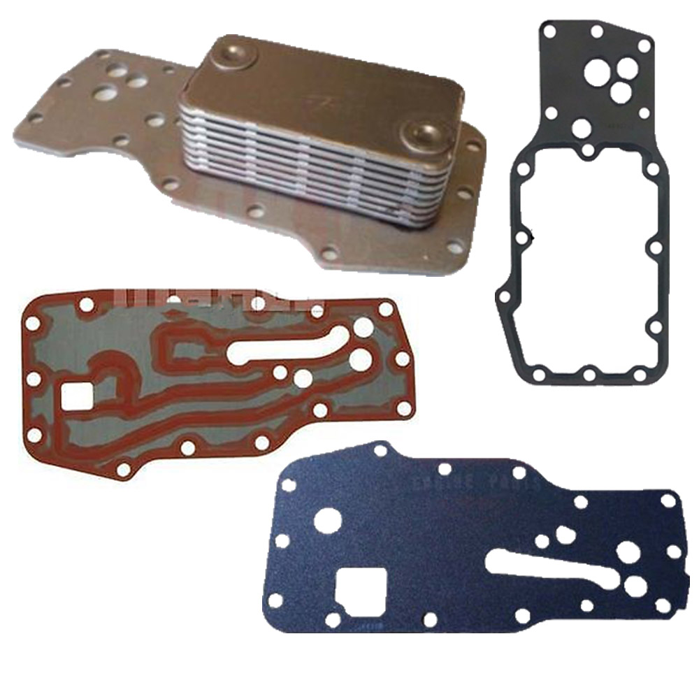 Oil Cooler with Gaskets Cummins 24V 6.7L Common Rail - DK Engine Parts