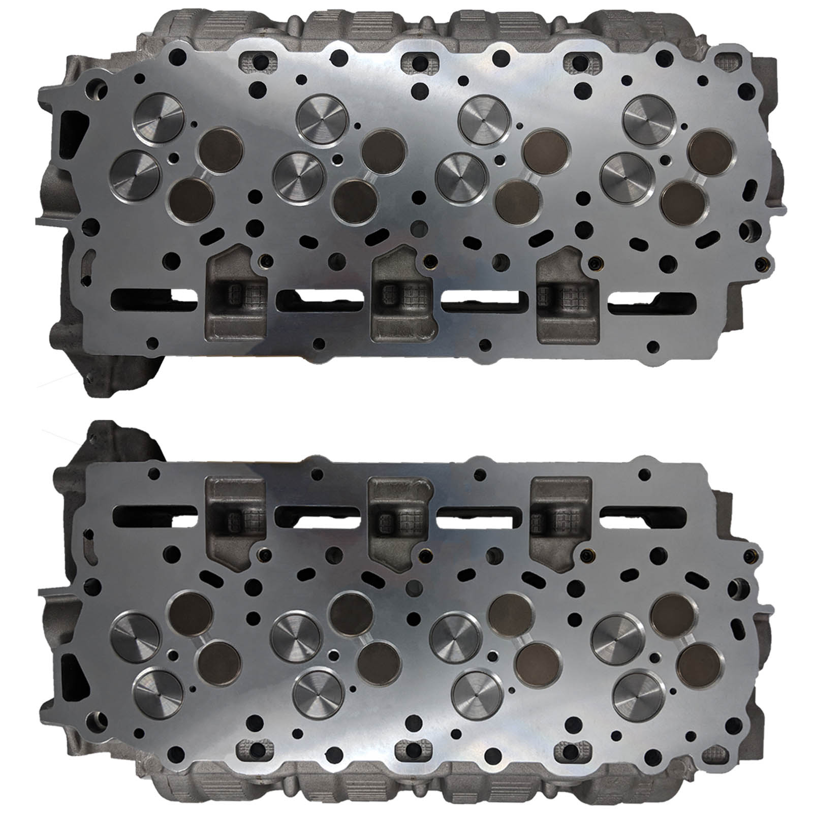 Cylinder Heads (2) Complete with Valve Train 2011-14 - DK-FD6.7Loaded