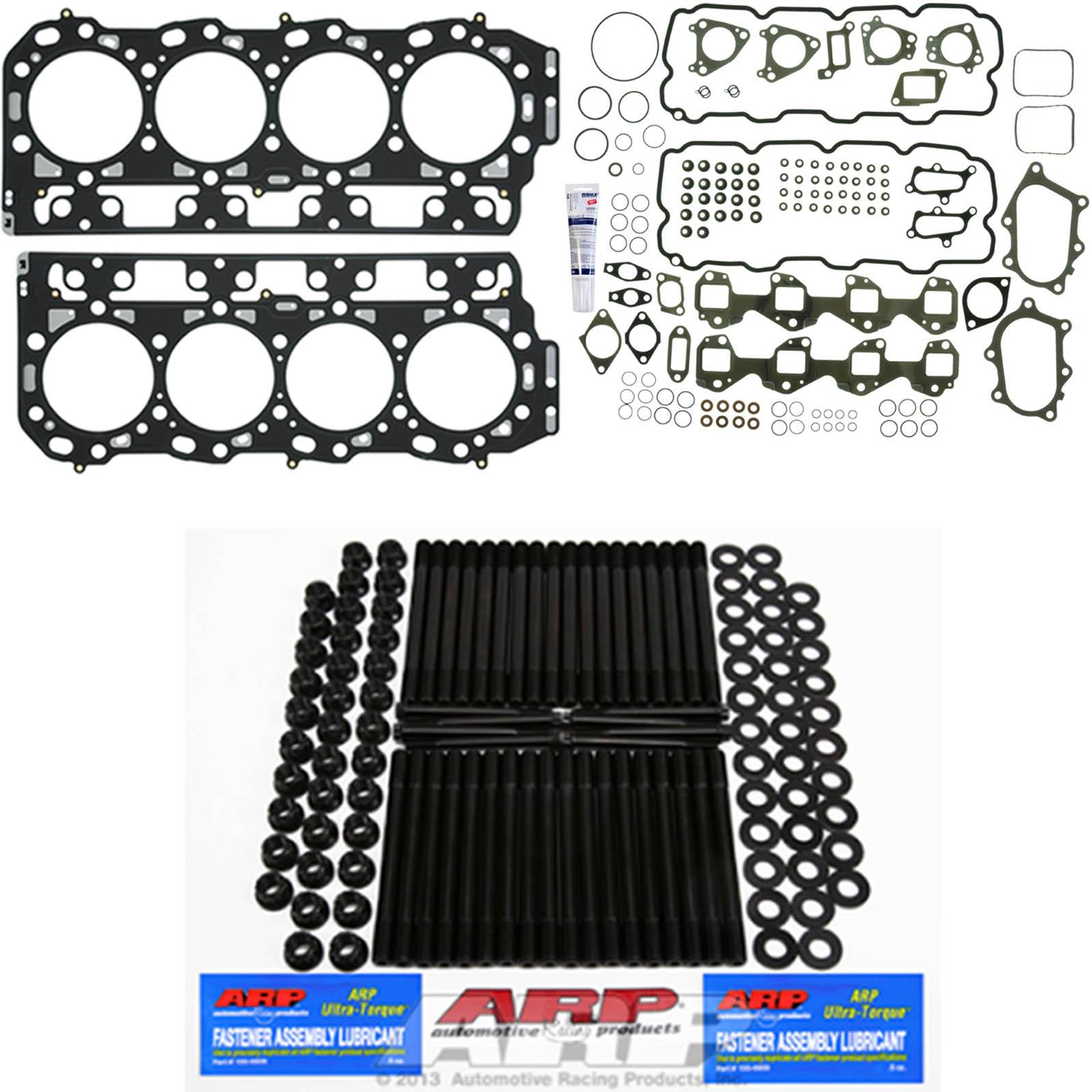 ARP Head Stud Kit w/Mahle Head Set & Grade 'C' Head Gaskets - DK-GMLB7-HGK12 - Mahle