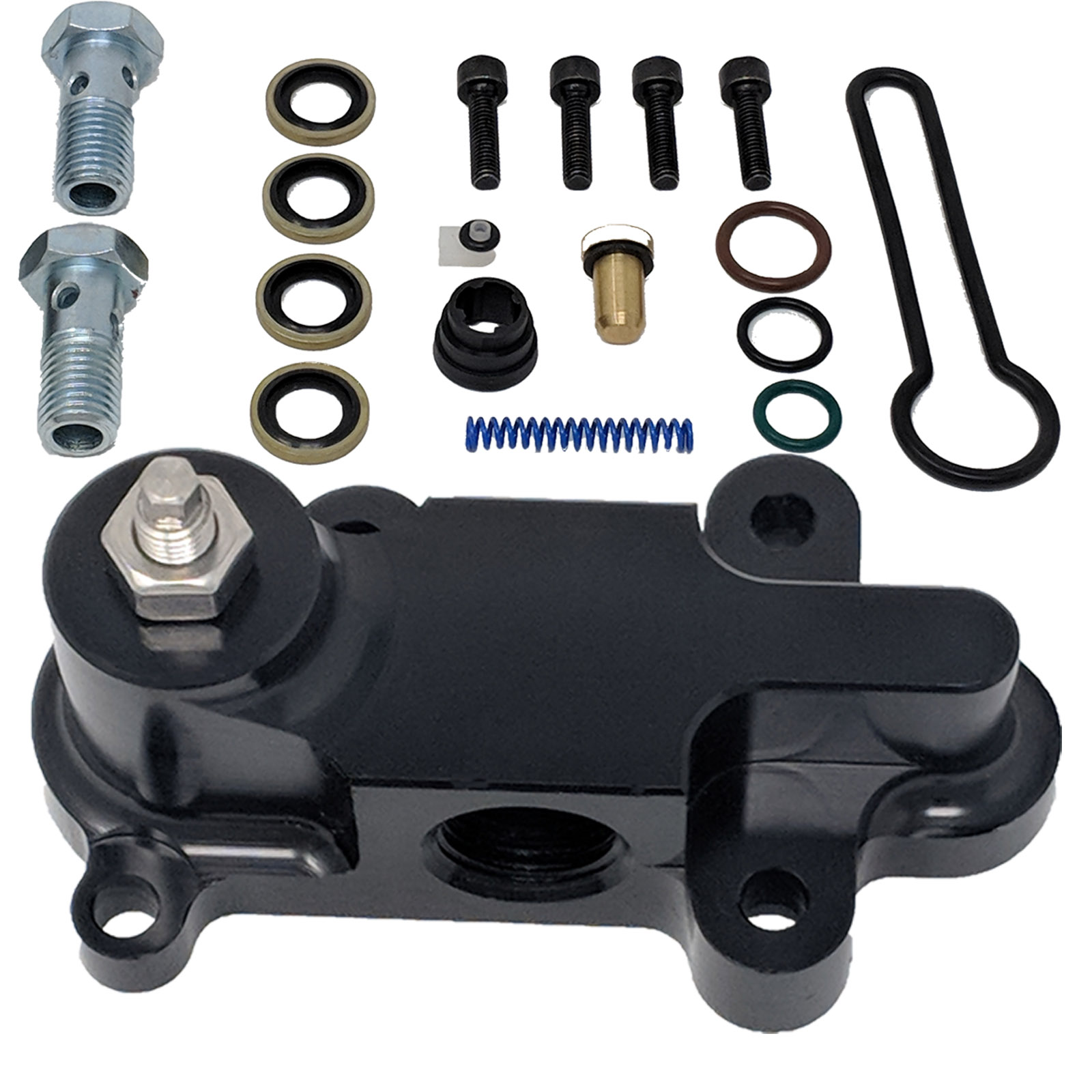 2003-2007 Ford 6.0L Powerstroke Billet Fuel Pressure Regulator Upgrade Kit